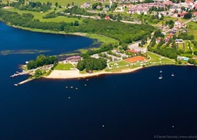 Horní Planá a nejhezčí pláž na Lipně